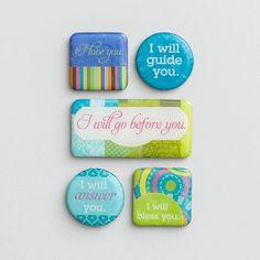 Loved - Inspirational Magnets, Set of 5