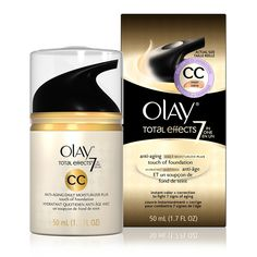 Olay Total Effects Daily Moisturizer + Touch of Foundation CC Cream