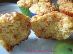 Muffins aux carottes et à l'ananas, Recette Ptitchef Gateaux Vegan, Scones, Deserts, Brunch, Esther, Fruit, Breakfast, Cake, Recipes