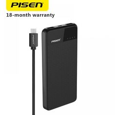 PISEN Slim 10000mAh Power Bank 2C Ultra-thin Polymer Powerbank Dual Outputs Fast Charging Portable External Battery  Price: 568.26 & FREE Shipping #computers #shopping #electronics #home #garden #LED #mobiles #rc #security #toys #bargain #coolstuff |#headphones #bluetooth #gifts #xmas #happybirthday #fun Battery Indicator, Free Shipping, Tech Gadgets, Banks, Mobile Phones, Computers, Slim, Electronics