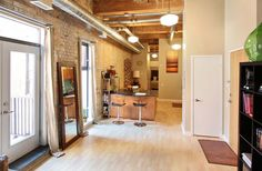 Exposed Brick Walls, Wood Ceilings, Granite Counters, Workout Rooms, Lofts, Toronto, The Neighbourhood, The Unit, Number