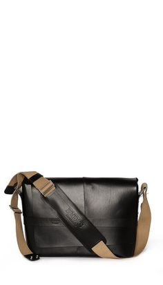 Brooks England Barbican Leather Messenger Bag