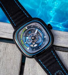 Interview: Dan Niederer, Founder and CEO of SEVENFRIDAY | Time and Watches | The watch blog Spirit Of Summer, Watch Blog, Beach Club, Sport Watches, Watch Brands, Omega Watch, Dan, Interview, Sporty