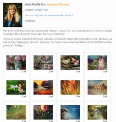 We have another new member of the Art Storm community. Veronica Thomas is a talented painter and artist and we are proud to be able to promote her art. Visit her website at http://veronicathomasart.wix.com/art-1