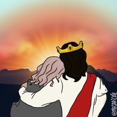 Can't wait to meet you in person🙂💕 Jesus Christ Images, Jesus Art, My Jesus, Jesus Is Risen, Jesus Loves Me, Good Good Father, God Is Good, Jesus Cartoon, Jesus Painting