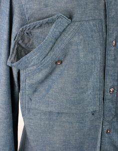 #denim #shirt #pocket