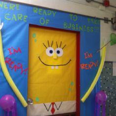Spongebob Door & Spongebob and Patrick Bedroom Door by Smogmonkey | decorate your ... Pezcame.Com