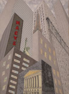 New York Stock Exchange, Art Quilts by Mietzi
