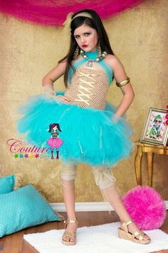 Cleo De Nile inspired costume and tutu by SofiasCoutureDesigns, $69.00