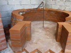 Costruzione forno a legna - Wood fired pizza oven construction