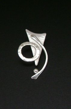 Stetling Silver Contemporary Pendant by SignetureLine on Etsy, $65.00