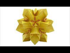 Origami ❀ Tulip ❀ Kusudama - YouTube