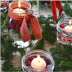 Csak néhány üres befőttes üvegre van szükséged és a világ legszebb karácsonyi dekorációja a tiéd!