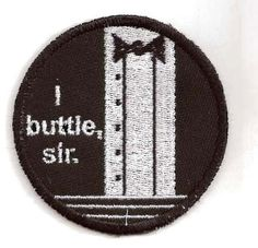 Clue, Wadsworth, I Buttle, Sir Patch. $8.00 USD, via Etsy.