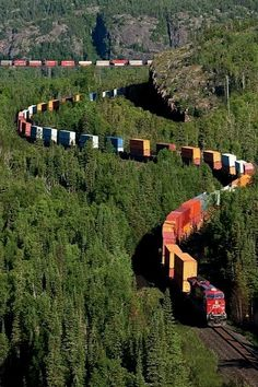 *Canadian Pacific Railway - My Dad and Granddad were railroad engineers - Love me some trains.
