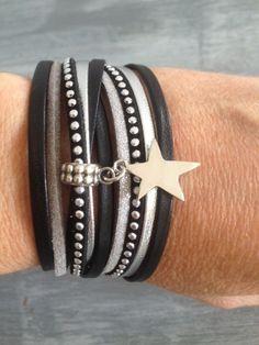 JewelryWe Bijoux Bracelet Homme d/'Amiti/é Infini Infinity Amour Manchette Cuir Alliage Blanc Fantaisie pour Homme et Femme avec Sac Cadeau