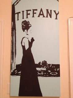 and I said... what about... breakfast at Tiffany's