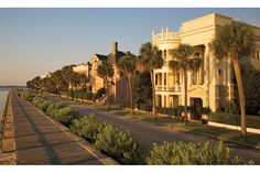 Where to Shop, Stay, and Dine in Charleston, South Carolina : Battery's Waterfront Promenade.