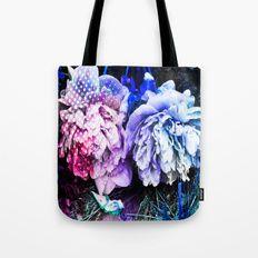 Unicorn Flowers Tote Bag