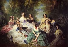 Official portraitist for the royal courts of Europe, Franz-Xavier Winterhalter was the favourite painter of the Empress Eugenie. Indeed, Eugenie most probably used her own personal fortune to pay for this renowned collective portrait representing the sovereign in 1855 surrounded by her ladies in waiting. Hung in Fontainebleau Palace during the Second Empire, the work …