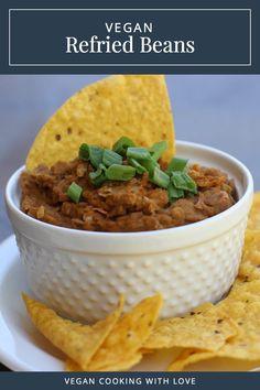 Vegan Refried Beans  //  Vegan Cooking with Love