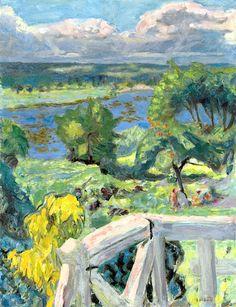Pierre Bonnard / Coup de soleil (La terrasse de 'Ma roulotte' à Vernonnet)