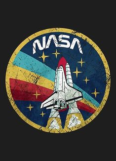 Nasa Vintage Colors V01 Retro Style Vintage Emblem with high resolution graphics.Click Here to View The Full Nasalization T-Shirts Collection • Millions of unique designs by independent artists. Find your thing.