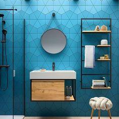 The Best Design Wastafel Is Simple 49 Vintage Industrial Decor, Industrial Bathroom, Rustic Bathrooms, Small Bathroom, Bathroom Furniture, Bathroom Interior, Vanity Basin, Oak Shelves, Minimalism