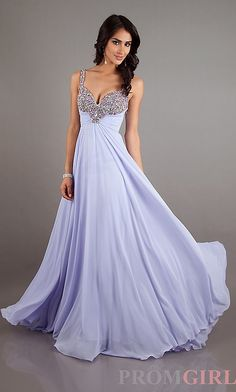 Gorgeous lavender sherri hill dress