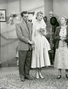 Lucy ♥ Desi in a scene from the I Love Lucy episode The Marriage Lisence