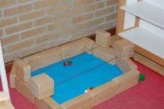 zwembad in bouwhoek
