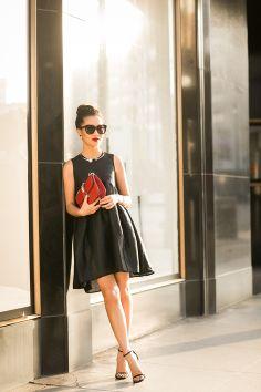 LBD :: Whimsical dress
