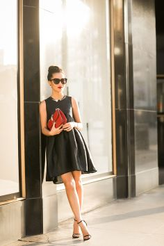 LBD :: Whimsical dress