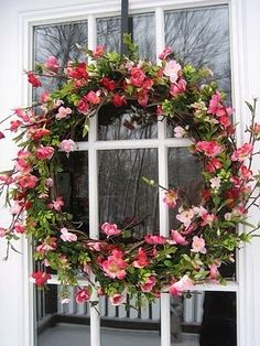 Spring decor for room your home decoration Lovely Spring Door Wreath...