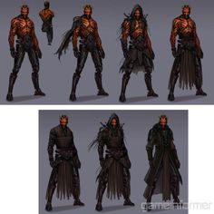 concept art for the canceled darth maul game, click the link for more