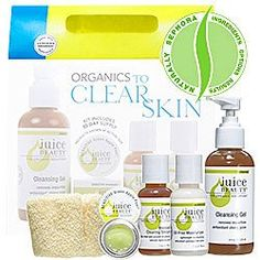 Juice Beauty Organics To Clear Skin Kit ($55 Value)