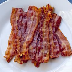 tip: how to cook bacon, the easy way place on cookie sheet w foil. Place in cold oven turn to 400. Cook 20 min flipping halfway.  -