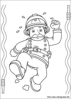 fireman color sheets fireman fire fighter printable