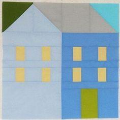 Hillside Houses Quilt Pattern | Craftsy