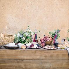 Our rustic wooden bar looks even more inviting dressed with this delicious spread by @yourgourmetcatering at @deuxbelettes  Image by @whiteimages