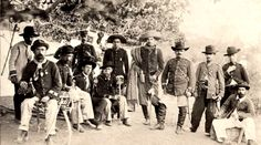 Oficiais do 28º Batalhão de Infantaria
