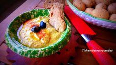 Polvere Di Zenzero Candito: salsa leggera di ceci e olive miste