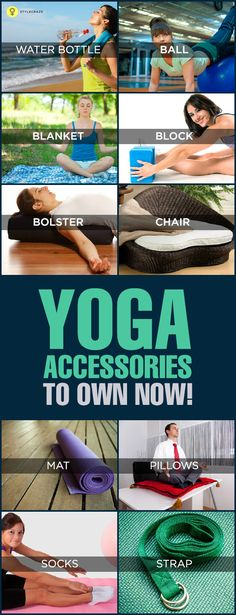 When you practice yoga, owing the right kind of yoga accessories is a must! Here is a list of the top 10 accessories that you can find.
