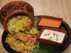 Recipe Main Dish : Vegetable biryani by Niyaprakash