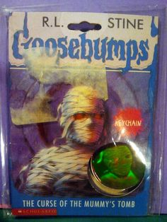 Goosebumps 3D Hologram Key Chain. Curse of the Mummys Tomb