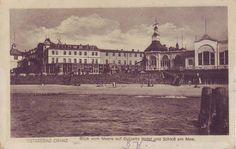 AK, s/w, Ostseebad Cranz- Hotel am Meer, beschriftet