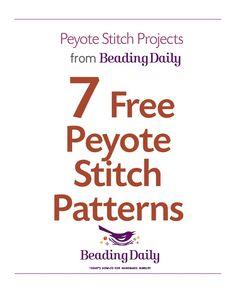 7 peyote stitch_pattern