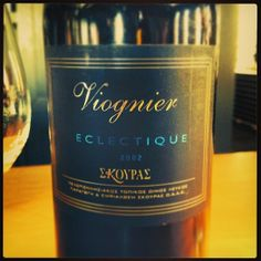Viognier Eclectique 2002 ! Unique vintages for unique moments!  twitter.com/DOMAINESKOURAS plus.google.com+DomaineSkouras youtube.com/user/DOMAINESKOURAS www.skouraswines.com/
