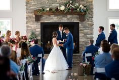 Venue: The Sycamore Winery Photography: McCamera Photography Indoor Fall Wedding, Girls Dresses, Flower Girl Dresses, Weddings, Wedding Dresses, Photography, Fashion, Dresses Of Girls, Bride Dresses
