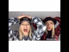 Lisa and Lena || take a chance || musical.ly - YouTube